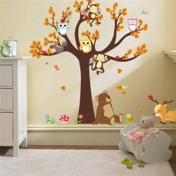 Nálepka na stenu- Strom 1