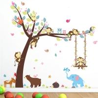 Nálepka na stenu- Strom 2