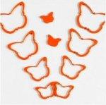 3D Drevené nalepovacie dekorácie-Motýle