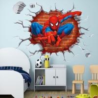 Nálepka na stenu- Spiderman