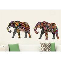 Nálepky na stenu- Slony