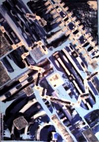 Obraz Mesto z vtáčej perspektívy