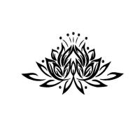 Nálepka na stenu- Lotus II