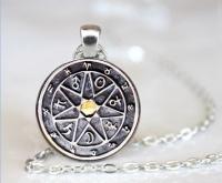 Chaldeánsky alstrologický talizman- strieborný
