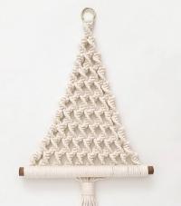 Macramé Vianočný stromček