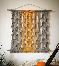 Macramé dekor Uzly