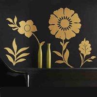 Nálepka na stenu- Kvety 3