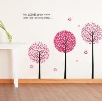 Nálepka na stenu- Stromy