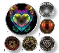 Valentínske snap buttony 5