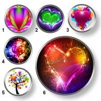 Valentínske snap buttony 7