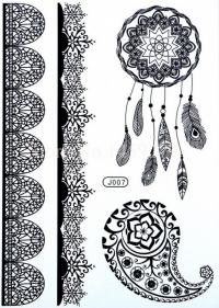 Čierna henna tetovačka