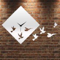 Zrkadlové hodiny Vtáky