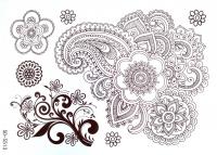 Hnedá henna tetovačka 2