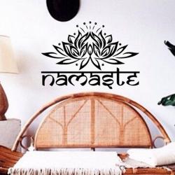 Nálepka na stenu- Namaste