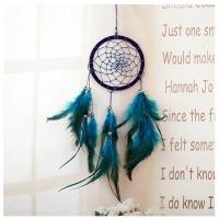 Modro-tyrkysový lapač snov
