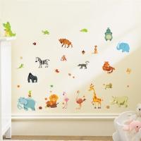Nálepka na stenu- Safari