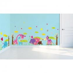 Nálepka na stenu- Žirafy